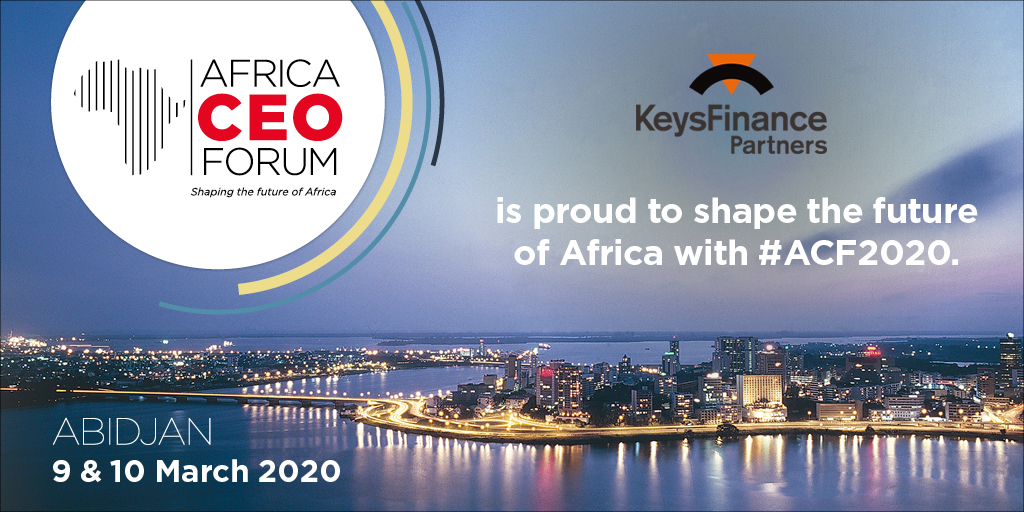 Keysfinance, sponsor of the 8th edition of Africa CEO Forum in Abidjan
